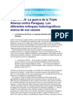 Escude, Guerra Al Paraguay