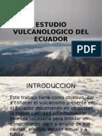 Estudio Vulcanologico Del Ecuador