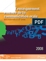Guide Enseignement Efficace Communication Orale