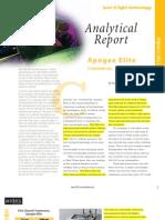 Elite Analytical Report Report