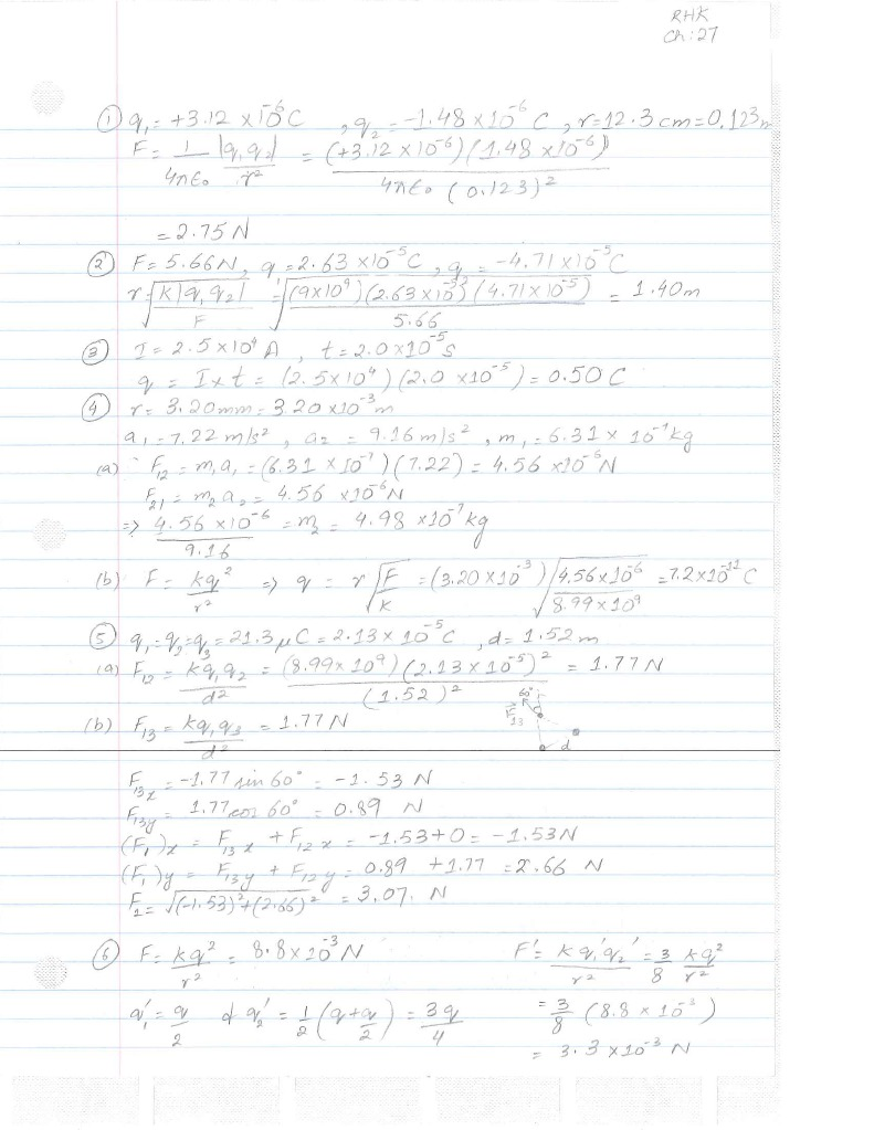 Chapter 27 Solutions
