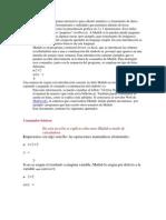 Matlab y Mathcad
