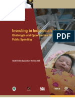 Investing in Indonesia's Health