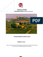 2012 Food Network Guided Vacation - Italy