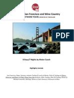 2012 Food Network Guided Vacation - San Francisco Itinerary