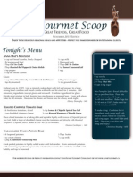the gourmet scoop - november 2011