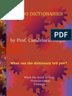 Using Dictionaries