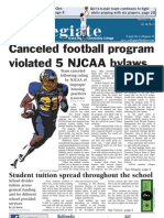 Canceled football program violated 5 NJCAA bylaws - Austin Metz (MCCPA 2nd Place)