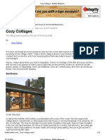 Cozy Cottages - Builder Magazine