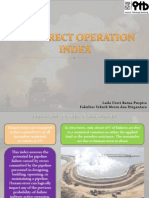 Incorrect Operation Index
