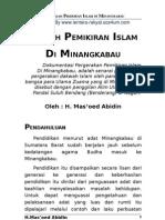 3398084 Gerakan Pemikiran Islam Di Minangkabau