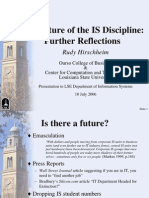 The Future of the is Discipline by Hirschheim