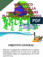 Analisis de Una Emprese Gestion Ambiental segun ISO 14001