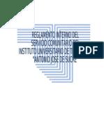 to Interno Del Servicio rio Iutajs Julio 2011
