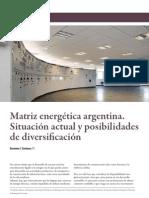 Matriz energética argentina. Cárdenas