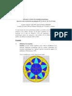 Dessiner et Colorier des Mandalas géometriques dans des cercles circonscrits_Atelier Robert Vincent (2003-2004)