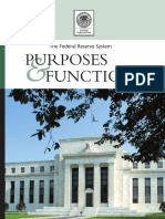 The Federal Reserve System Purposes & Functions