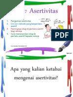 BAB 7 Asertivitas