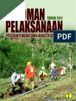 Pedoman pelaksanaan PPIP 2011