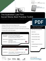 The Australian Law Firm Social Media Best Practice Toolkit
