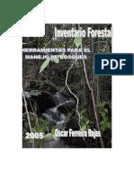 Manual de Invent a Rio Forestal PDF