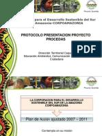 Protocolo Proyectos PROCEDAS