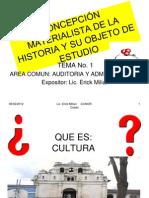 Unidad i Guia Program Concepcion Materialist A de La Historia