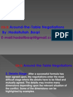 Ch 3 Around the Table Negotiations 1 By