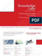 Knowledge Labs Cloud Computing Training Course Brochure