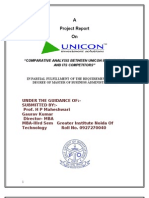 Comparative Analysis Between Unicon Investment and Its Competitors-2010