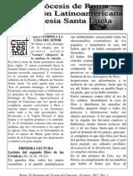IV Domingo Del Tiempo Cuaresma, 2012