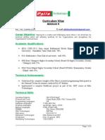 Palle Model Resume (1)