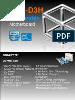 Gigabyte GA-Z77MX-D3H Motherboard