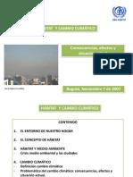 6. 2007-10-29-Habitat y Medio Ambiente (Calentamiento Global)