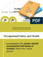 Promoting Safety and Health in the Workplace Ppt 89