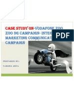 Vodafone Zoo Zoo 3g Campaign- Integrated