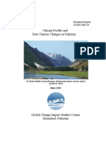 Climate Profile and Past Climate Changes in Pakistan(GCISC-RR-01)