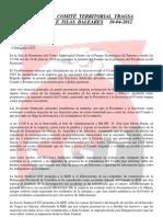 Acta Comité Territorial Tragsa Levante e Islas Baleares  10-04-2012