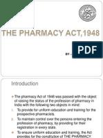 Pharmacy Act