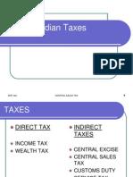 Indian Taxes
