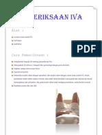 Prosedural Pemeriksaan IVA Dan Vagina Toilet