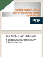 Karbokation Dan Reaksinya