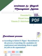Recruitment & Payroll Management System