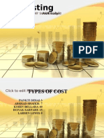 Costing Types of Costs