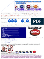 _international Power Ball Lottery