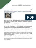 RBI Cuts Key Interest Rates