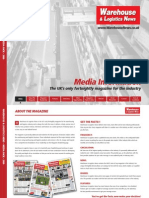 Warehouse & Logistics News - Media Pack 2009