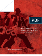 ADB Cooperation with Civil Society Annual Report 2008
