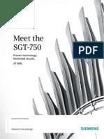 SGT 750 Brochure