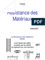RÉSISTANCE .PDF ET COURS EXERCICES TÉLÉCHARGER DES MATÉRIAUX CORRIGES